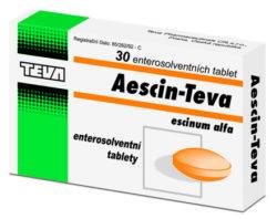 Aescin-Teva perorální tablety film  30 x 20 mg