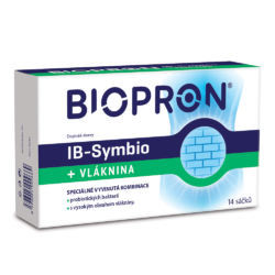 BIOPRON IB-Symbio + Vláknina 14 sáčků