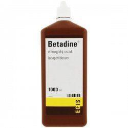 Betadine (chirurg.)tekutina 1 x 1000 ml (H)