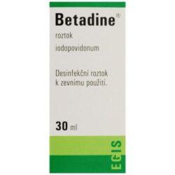Betadine tekutina 1 x 30 ml (H) zelený