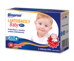 Biopron LAKTOBACILY Baby BiFi+ tobolky 30