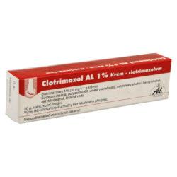 CLOTRIMAZOL AL 1%  1X50GM 1% Krém