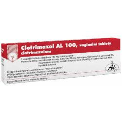 CLOTRIMAZOL pro záněty nižšími houbami tuba 6x100 mg