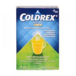 COLDREX Horký nápoj Citron prášek pro perorální roztok 10 sáčků