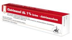 Clotrimazol AL 1 % krém 1 x 50 g 1 %