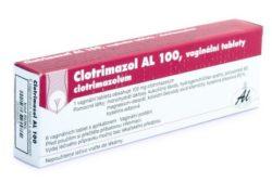 Clotrimazol AL 100 tablety vag. 6 x 100 mg+apl.