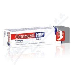 Clotrimazol HBF drm.crm.1x20g 1%