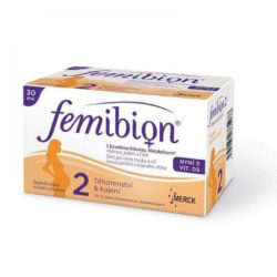 FEMIBION 2 s vitaminem D3 30 tablet + 30 tobolek výprodej
