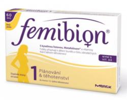 Femibion 1 s vit. D3 bez jódu tbl.60