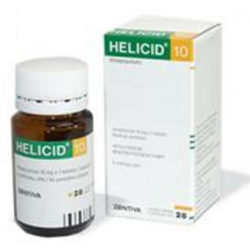 HELICID 10 ZENTIVA  14X10MG Tobolky