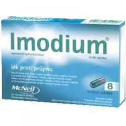 IMODIUM 2 mg 8 tobolek