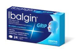 Ibalgin Grip 200mg/5mg por.tbl.flm.24