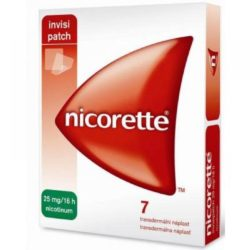 NICORETTE 25 mg/16 h Invisipatch 7 náplastí