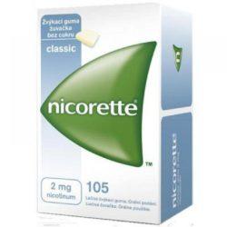 NICORETTE Classic žvýkačky 105x2 g