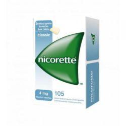 NICORETTE Classic žvýkačky 4x105 g