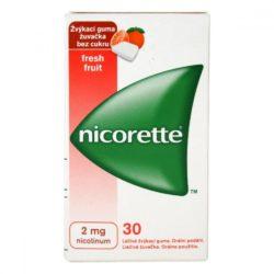 NICORETTE Freshfruit žvýkačky 2 mg 30 ks