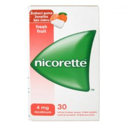 NICORETTE Freshfruit gum 4 mg 30 ks