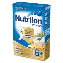 NUTRILON Pronutra krupicová mléčná kaše s piškoty 225 g