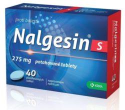 Nalgesin S potahované tablety 40x275mg