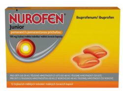 Nurofen Junior Pomeranč 100mg cps.mdm. 12ks