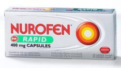 Nurofen Rapid 400 mg Capsules perorální orální tobolky měkké 10 x 400 mg