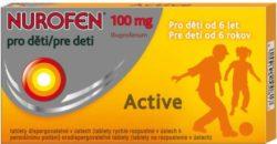 Nurofen pro děti active 12 x 100mg
