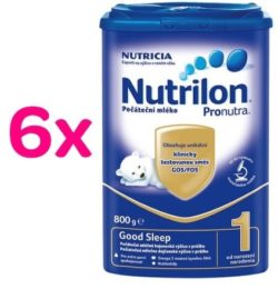 Nutrilon 1 Good Sleep 800g - 6 pack