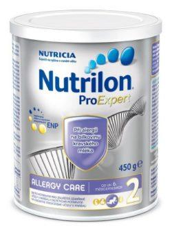 Nutrilon 2 Allergy Care perorální roztok 1 x 450 g new