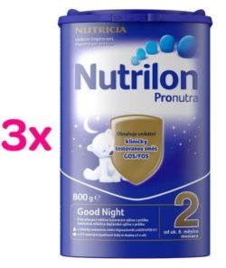 Nutrilon 2 Good Night 3 x 800g