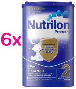 Nutrilon 2 Good Night 800g SIXPACK