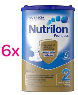 Nutrilon 2 Pronutra 800g SIXPACK