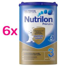 Nutrilon 3 Pronutra 800g SIXPACK