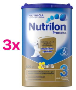 Nutrilon 3 Vanilka 3 x 800g