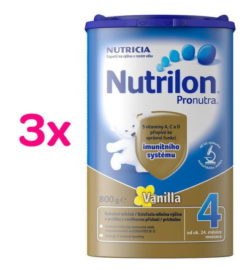 Nutrilon 4 Vanilka 3 x 800g