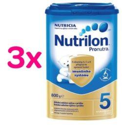 Nutrilon 5 Pronutra 3 x 800g