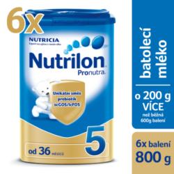 Nutrilon 5 Pronutra 800g SIXPACK