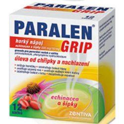 PARALEN GRIP horký nápoj echinacea a šípký 12 sáčků