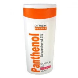 Panthenol šampon narušené vlasy 250ml DR.MULLER