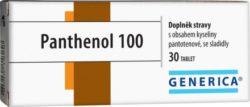 Panthenol 100 Generica tablety 30
