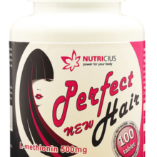 Perfect HAIR new - methionin 500 mg tablety 100