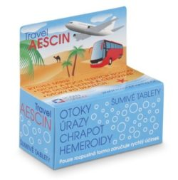 Rosen Travel Aescin šumivé tablety tablety šumivé 7