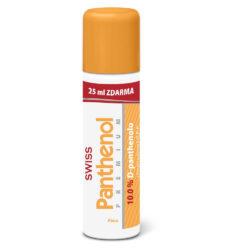 Swiss Panthenol 10 % premium pěna 125 + 25 ml zdarma