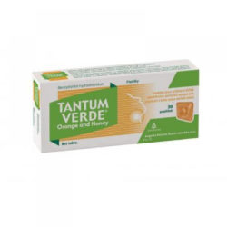 TANTUM VERDE orange and honey ORM pastilky 20x3 MG