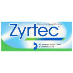Zyrtec perorální tablety film  20 x 10 mg
