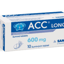 ACC LONG 600 mg 10 šumivých tablet