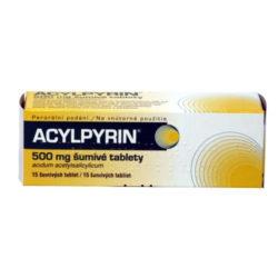 Acylpyrin 500 mg 15 šumivých tablet