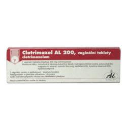 Clotrimazol AL 200 3 vaginální tablety + aplikátor