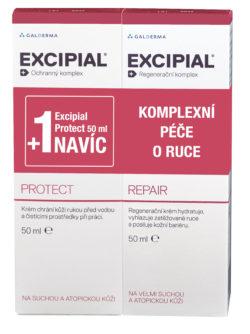 Excipial Repair + Excipial Protect NAVÍC 2 x 50 ml Krém