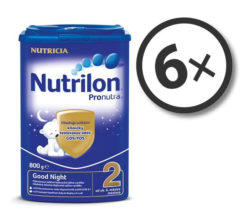 Nutrilon Pronutra 2 Good Night 800 g 6-pack