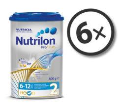 Nutrilon Profutura 2 800 g 6-pack